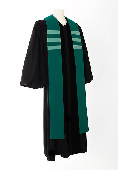 Picture of Trinity Stripe Stole - Green
