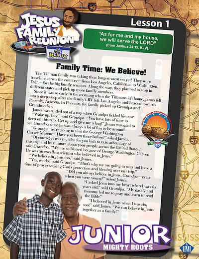 UMI VBS 2013 Jesus Family Reunion: The Remix Junior Student Magazine