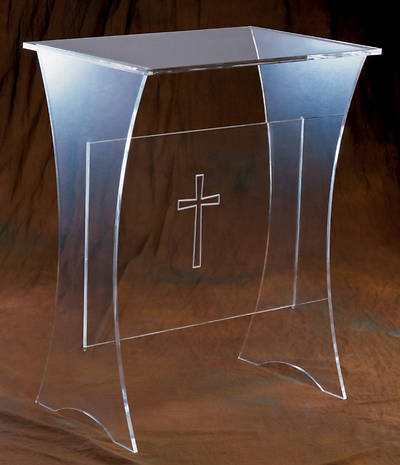 Woerner 3307 Acrylic Offertory Table