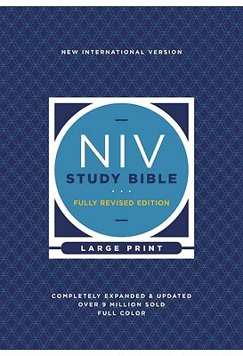 Picture of NIV Study Bible, Fully Revised Edition, Large Print, Hardcover, Red Letter, Comfort Print