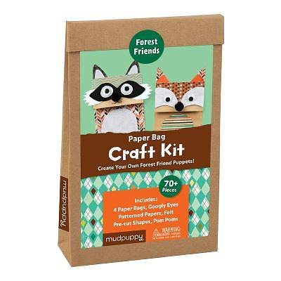 Forest Animals Paper Bag Craft Kit