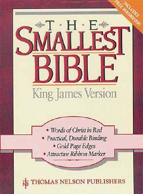 Bible KJV Snap Flap Smallest