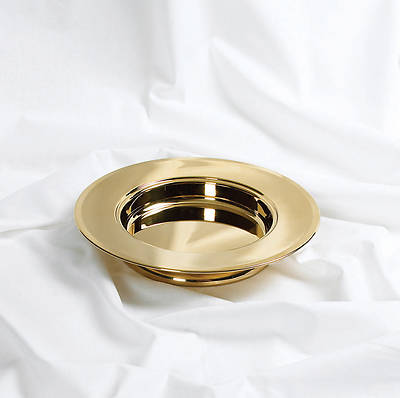 RemembranceWare Brass Stacking Bread Plate
