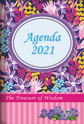 Picture of The Treasure of Wisdom - 2021 Daily Agenda - Wildflowers