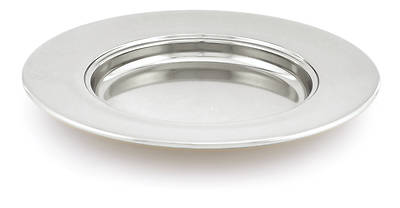 CHROME NON-STACKING BREAD PLATE