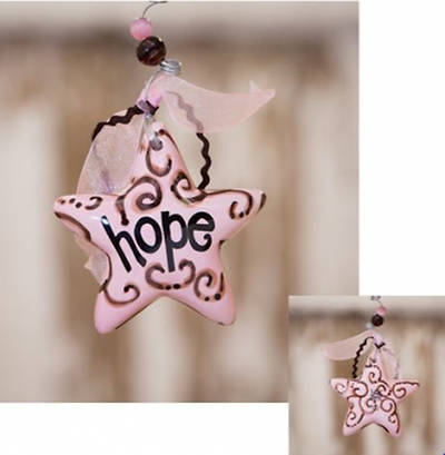 Hope Star Ornament