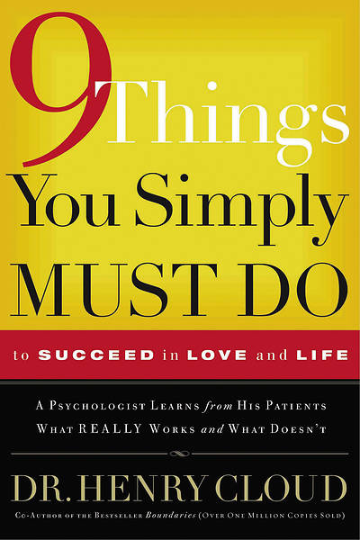 Picture of 9 Things You Simply Must Do to Succeed in Love & Life