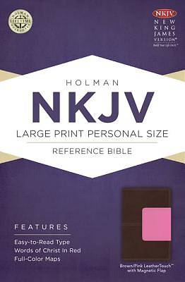 Large Print Personal Size Reference Bible-NKJV-Magnetic Flap