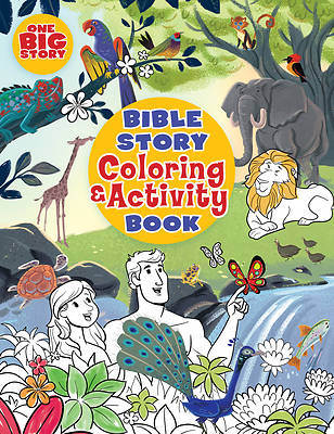 Picture of Bible Story Coloring and Activity Book