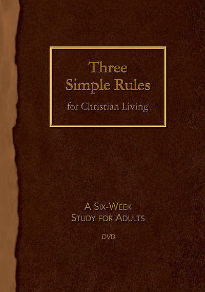 Picture of Three Simple Rules for Christian Living DVD