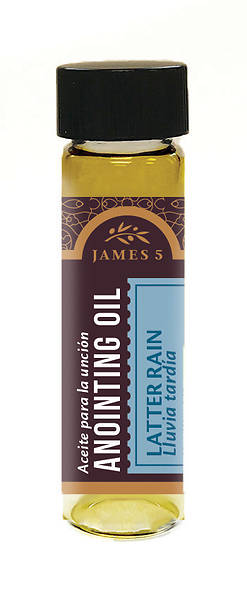 Picture of James 5 Latter Rain Anointing Oil - 1/2 oz.