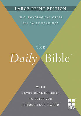 Picture of The Daily Bible(r) Large Print Edition