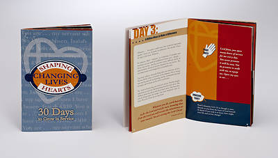 Picture of Shaping Hearts, Changing Lives Softcover Devotion Book