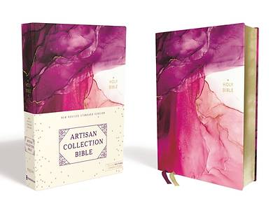NRSV, Artisan Collection Bible, Cloth over Board, Pink, Art Gilded Edges, Comfort Print