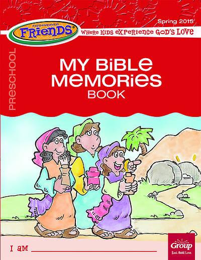 Picture of Faithweaver Friends Preschool Student Book My Bible Memories Spring 2015