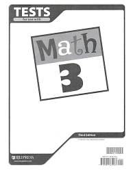 Picture of Math 3 Testpack 3rd Edition