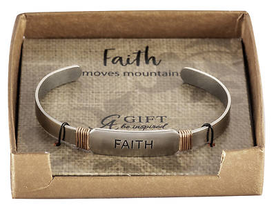 Picture of FAITH Inspiration Cuff Bracelet