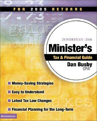 Zondervan Ministers Tax & Financial Guide