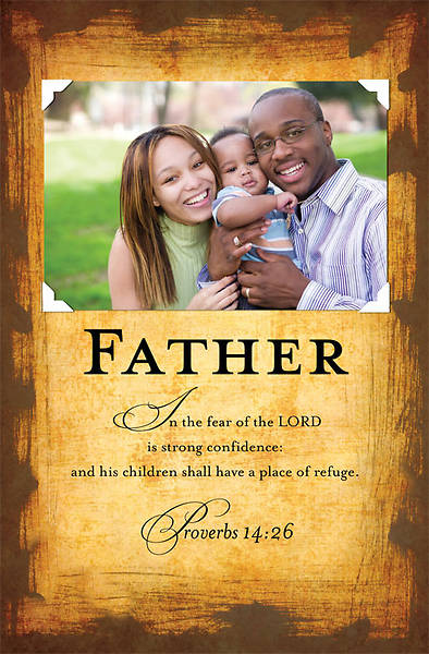 African American Fathers Day Bulletin 2011, Regular (Package of 50)