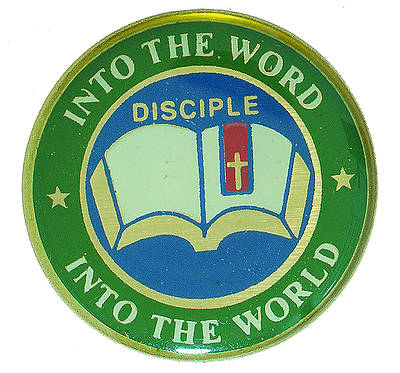 Disciple II Into the Word Into the World: Lapel Pins (Pkg of 6)