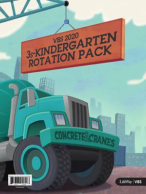 Picture of Vacation Bible School (VBS) 2020 Concrete and Cranes 3s-Kindergarten Rotation Pack