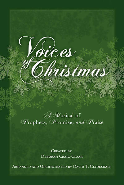 Voices of Christmas SATB Choral Book