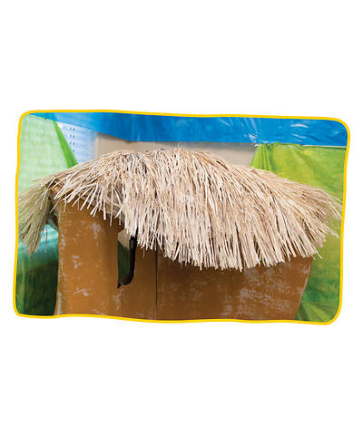 Vacation Bible School (VBS19) Roar Raffia Table Skirt