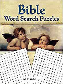 Picture of Bible Word Search Puzzles