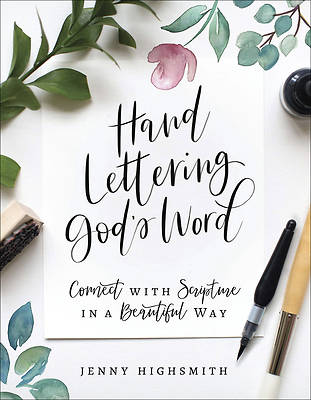 Picture of Hand Lettering God's Word