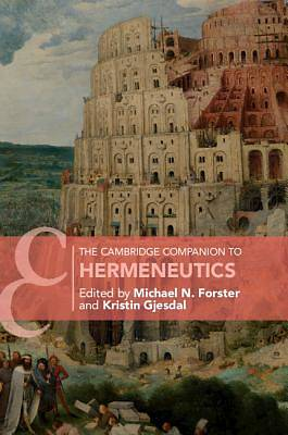 Picture of The Cambridge Companion to Hermeneutics