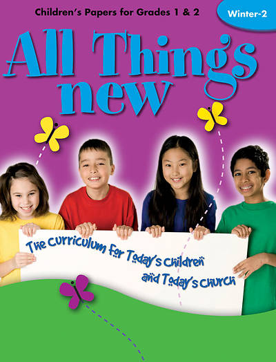 All Things New Winter 2 Childrens Papers (Grades 1-2)