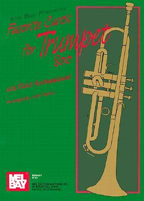 Favorite Carols for Trumpet Solos with Piano Accompaniment
