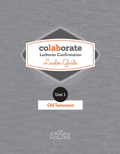 Picture of Colaborate Lutheran Confirmation Leader Guide Old Testament