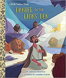 Picture of Daniel in the Lions' Den