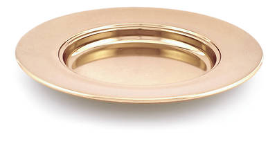 Communion Bread Plate - Copper