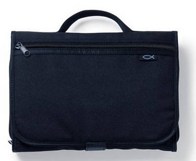 Picture of Tri-Fold Extra Large Black Organizer