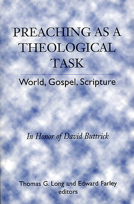 Picture of Preaching as a Theological Task