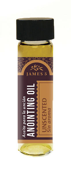 Picture of James 5 Unscented Anointing Oil - 1/2 oz.