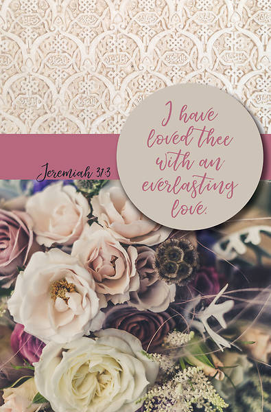 Picture of I Have Loved Thee Wedding Regular Size Bulletin
