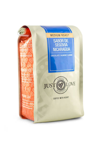Just Love Sabor De Segovia Nicaragua Medium Roast Ground Coffee