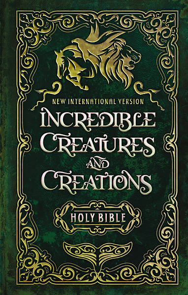 Picture of NIV Incredible Creatures and Creations Holy Bible, Hardcover