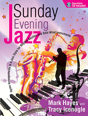Sunday Evening Jazz Piano Book with Accompaniment CD