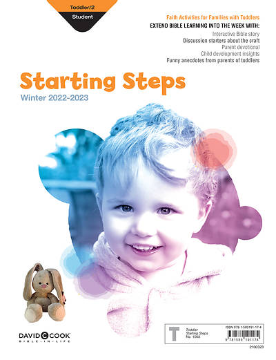 Bible-in-Life Toddler 2 Starting Steps: Winter