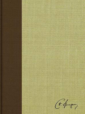 Picture of Rvr 1960 Biblia de Estudio Spurgeon, Marrón Claro, Tela