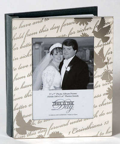 "Picture of ""This Is The Day""  Wedding Photo Album Keepsake"