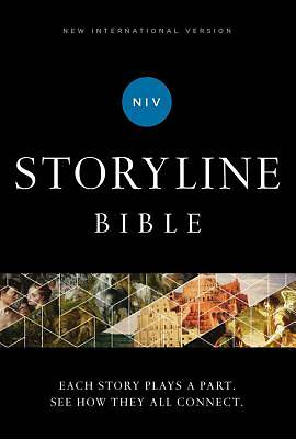 Picture of NIV Storyline Bible, Hardcover, Comfort Print