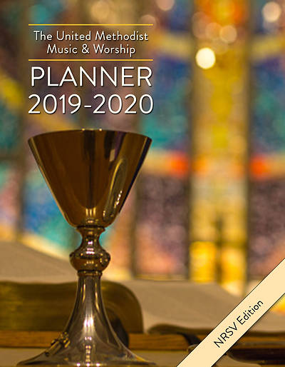 Picture of The United Methodist Music & Worship Planner 2019-2020 NRSV Edition
