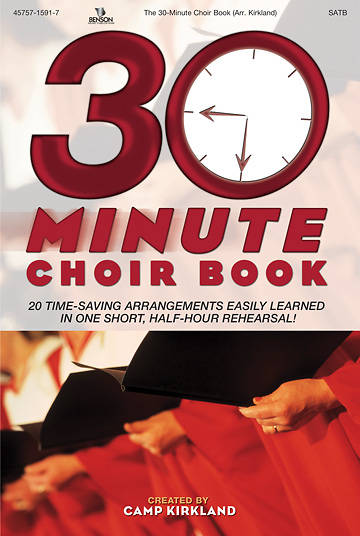 Picture of 30 Minute Choir Book SATB Choral Book