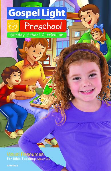 Gospel Light Preschool/Kindergarten Visual Resources Spring 2017