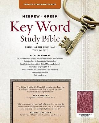 Picture of Hebrew-Greek Key Word Study Bible - ESV